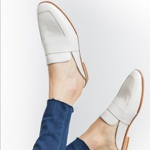 Free People At Ease Loafers White
